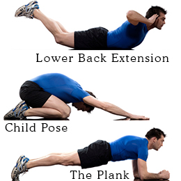 back pain poses